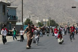 005 TEACHING CHANGE (3)- LAUNCHED IN AFGHANISTAN AND RAPIDLY SPREADING TO OTHER WAR-TORN COUNTRIES SKATEISTAN