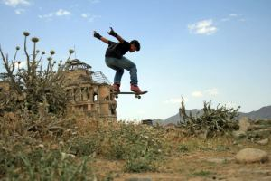 007 TEACHING CHANGE (3)- LAUNCHED IN AFGHANISTAN AND RAPIDLY SPREADING TO OTHER WAR-TORN COUNTRIES SKATEISTAN